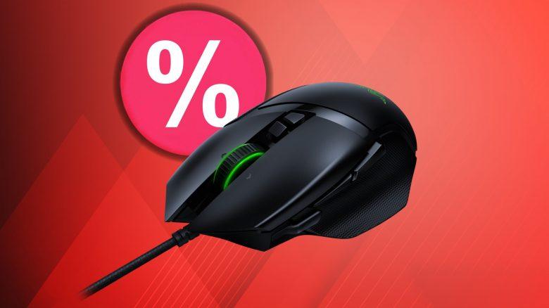 Gute Gaming-Maus von Razer aktuell günstig im Angebot bei Amazon