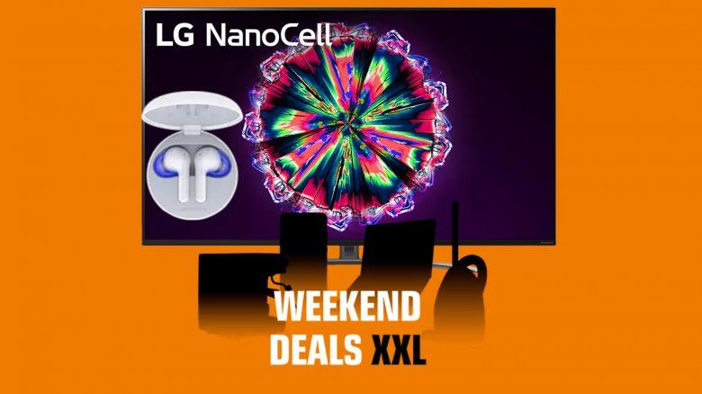 LG Nanocell-TV günstig mit Ohrhörer-Zugabe und mehr bei Saturn.de