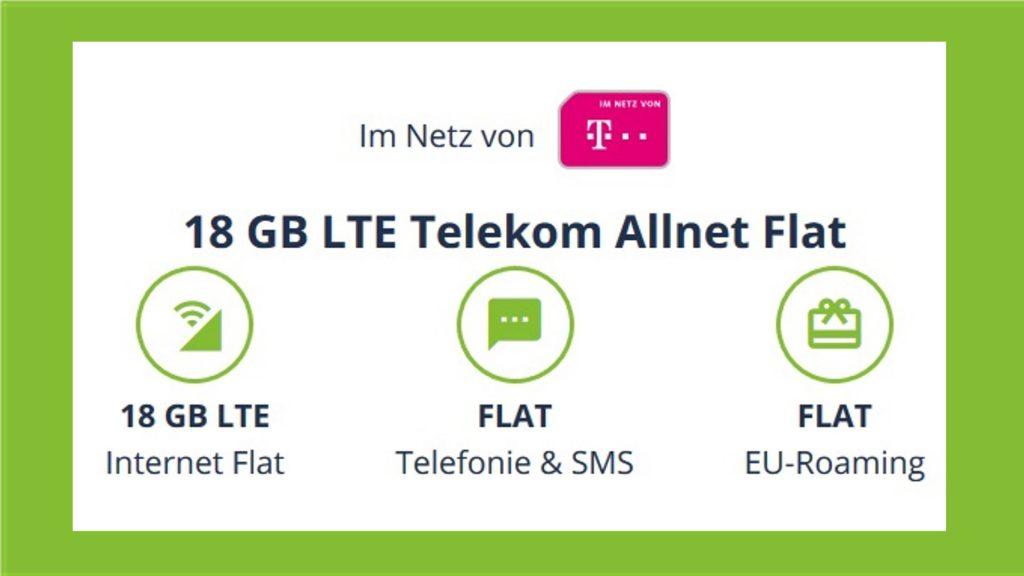 Telekom-Handytarif zum Hammerpreis: Flatrate und 18 GB nur 13,99 €
