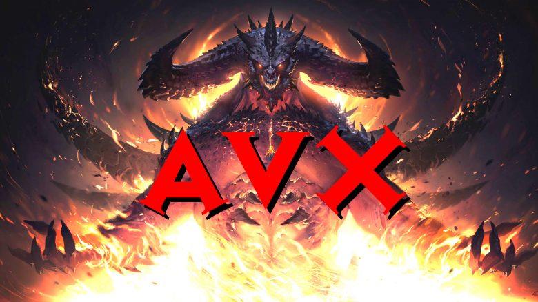DIablo 2 AVX Titel