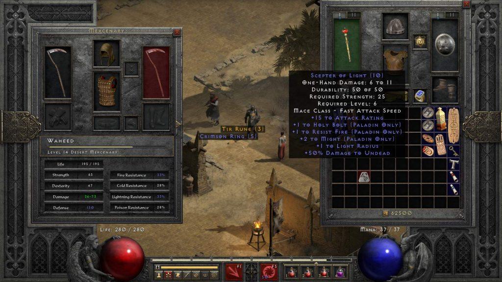 DIablo 2 Resurrected Better SP Mod