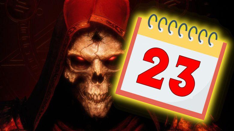 Diablo 2 Resurrected Release Kalender Titel