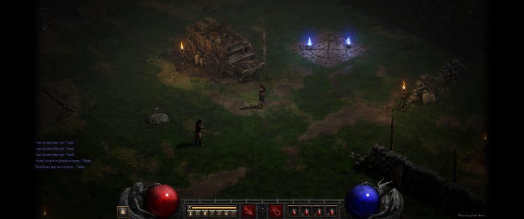 Diablo 2 Resurrected Ultrawide Schwarze Balken