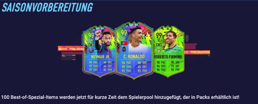 FIFA 21 Saisonvorbereitung