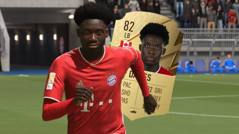 FIFA 22: Davies vom FC Bayern zeigt seine Werte, wird richtig gut für den Start