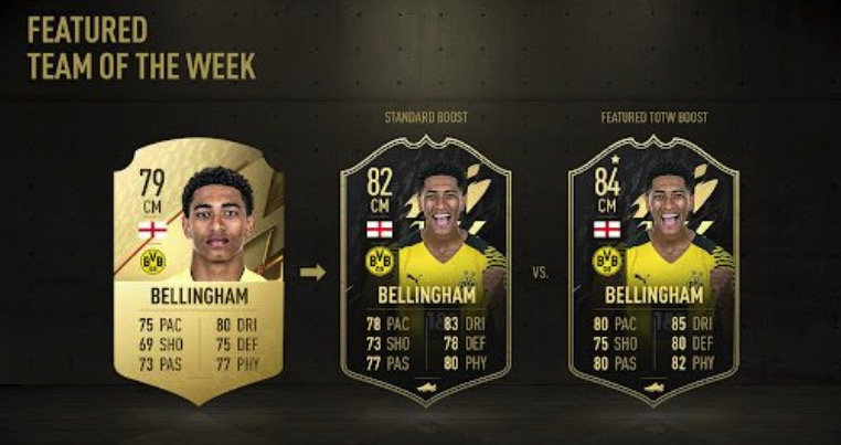 FIFA 22 Boosted TOTW