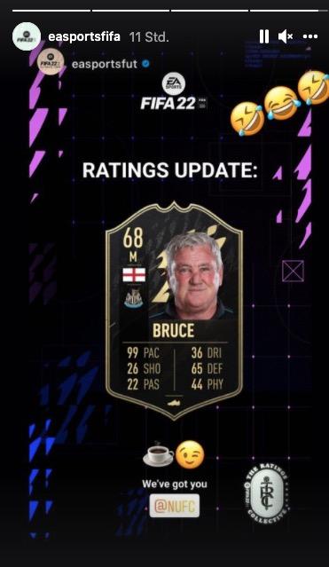 FIFA 22 Steve Bruce