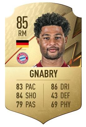 FIFA 22 Gnabry