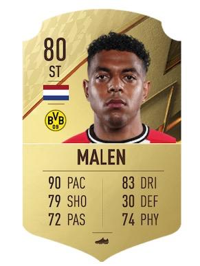 FIFA 22 Donyell Malen