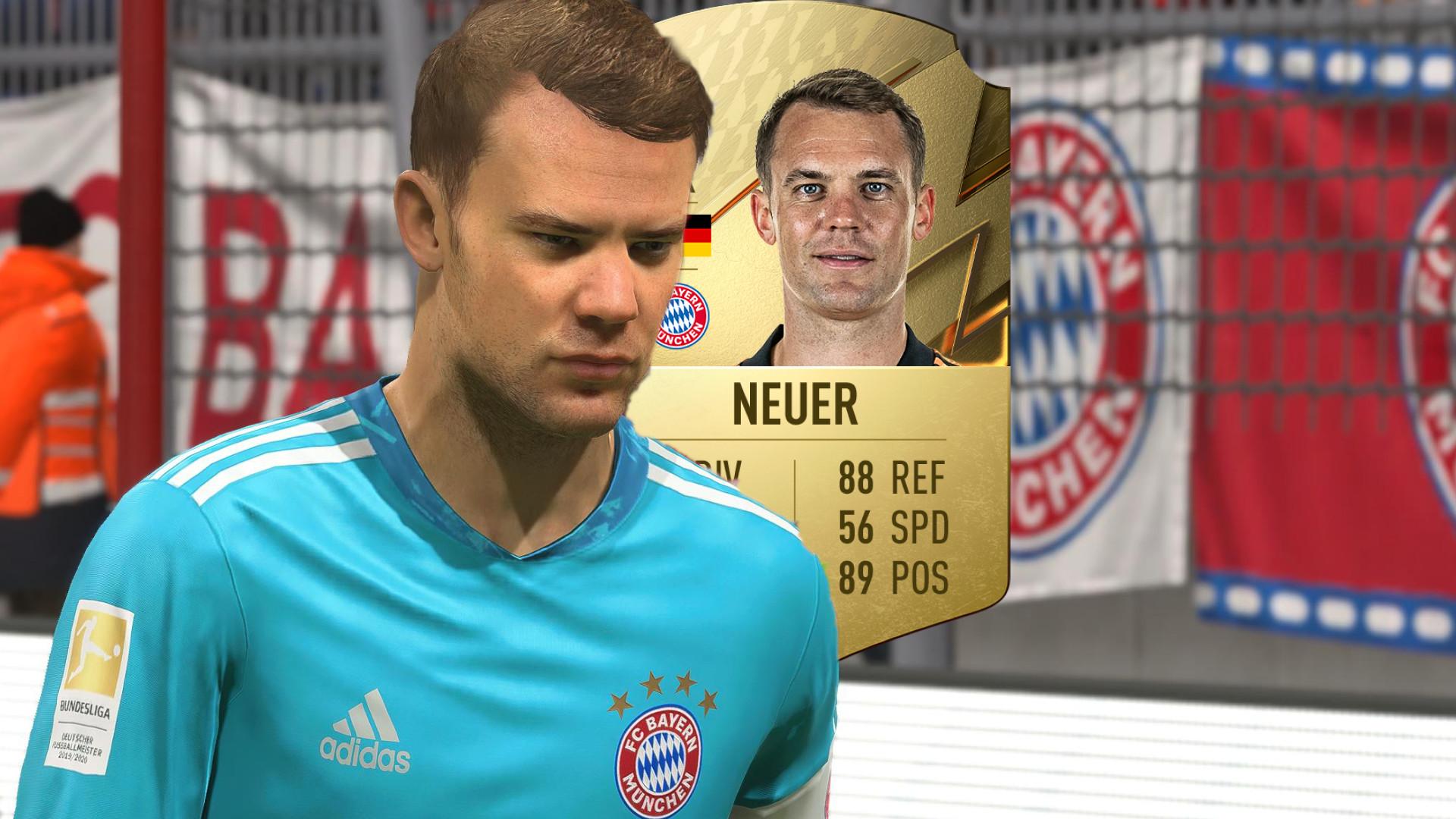Manuel Neuer ist wieder nicht der beste Torhüter in FIFA 22 – Die 7 stärksten Keeper