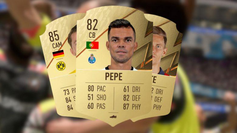 FIFA 22 Ratings Llorente Pepe Dias