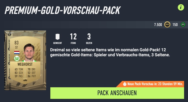 FIFA 22 PReview Pack