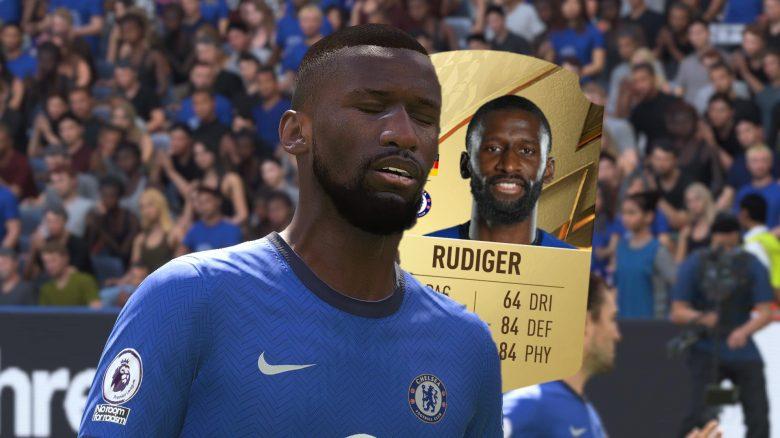 FIFA 22 antonio ruediger rating