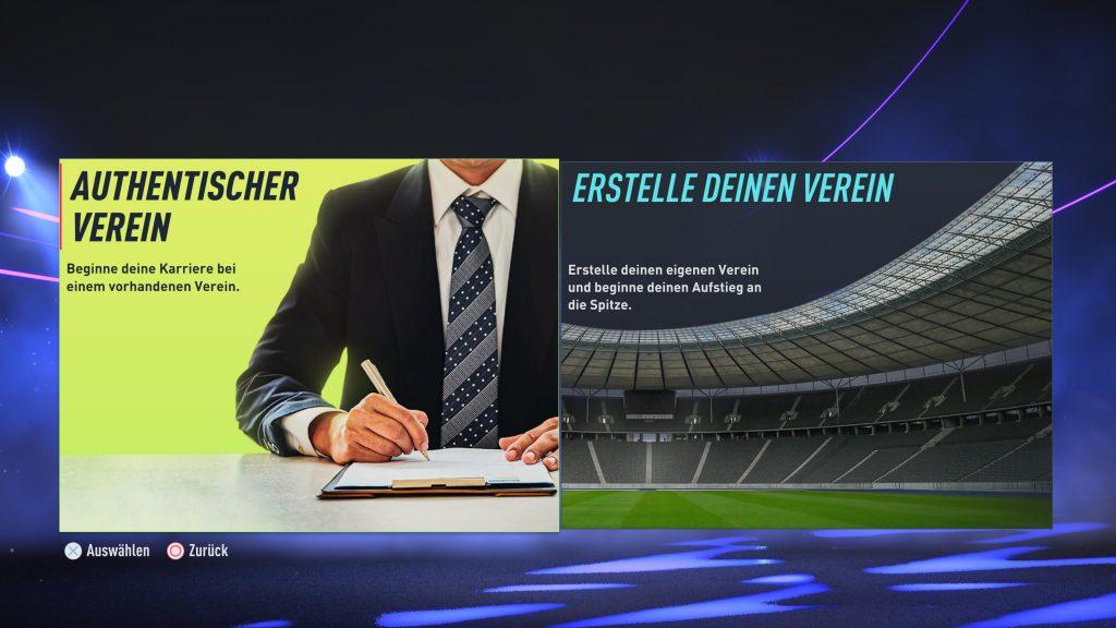FIFA 22 eigener Verein