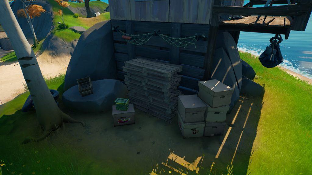 Fortnite-Season8-Bunker-unter-Hütte