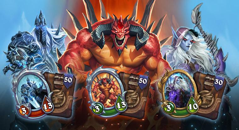 Hearthstone Pre Order Arthas Diablo Sylvi
