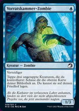 Magic the Gathering Vorratskammer Zombie
