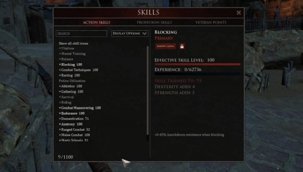 Mortal Online 2 Skills