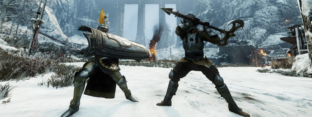 New World Waffen Duell