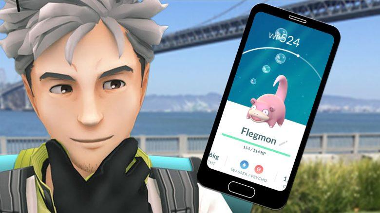 Pokémon GO: Wie ihr einen Schnappschuss im Freien von Psycho-Pokémon macht