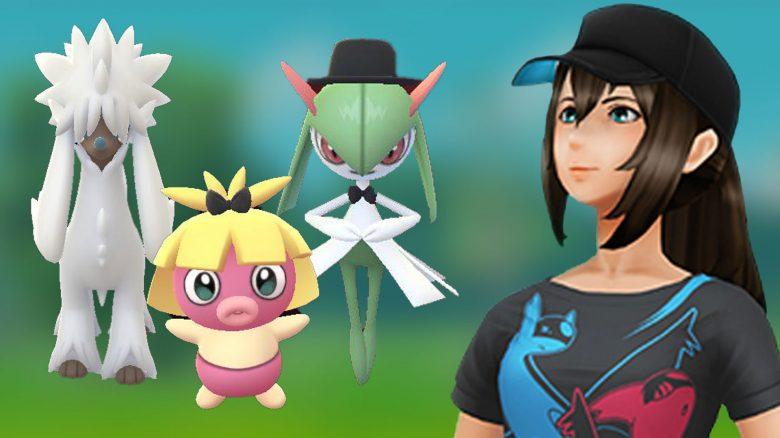 Pokémon-GO-Coiffwaff,-Kirlia,-Kussilla