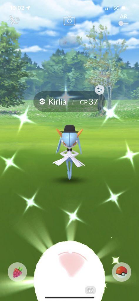 Pokémon GO Shiny Kostüm Kirlia