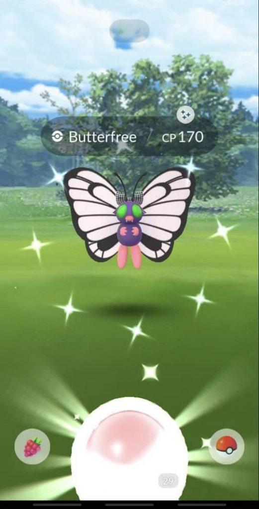 Pokémon GO Shiny Kostüm Smettbo
