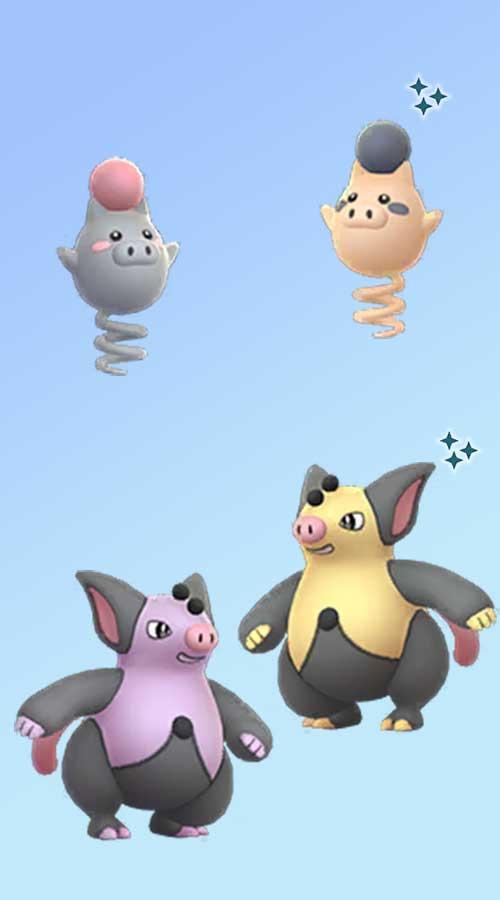 Pokémon-GO-Spoink-Shiny-Groink-Shiny