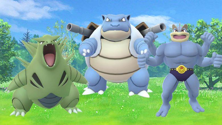 Pokémon-GO-Weiterentwicklungen-Turtok,-Despotar,-Machomei