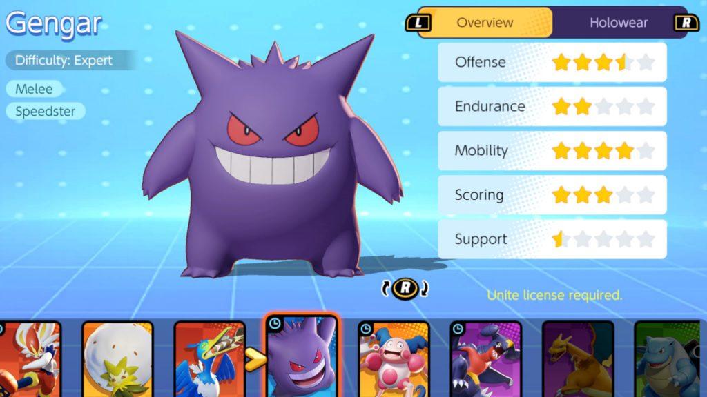 Pokemon-Unite-Gengar-Stats