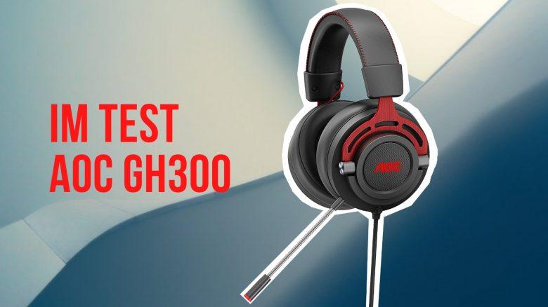 Headset AOC GH300 im Test: Toller Klang für 50 Euro, aber es gibt eine klare Schwäche