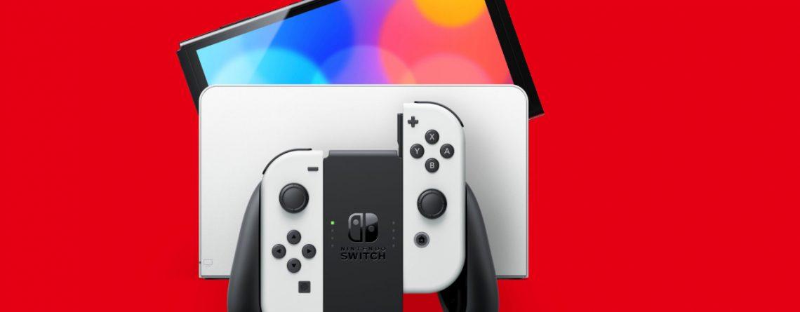 Titelbild Nintendo Switch OLED Modell