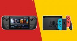 Titelbild Nintendo Switch vs Steam Deck