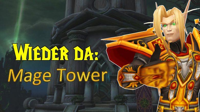 WoW: Der geliebte Magierturm aus Legion kommt zurück