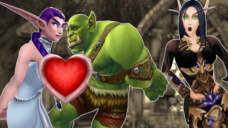 WoW Orc Night Elf Love titel title 1280x720