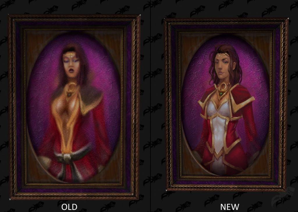 WoW Picture Change Female Mage