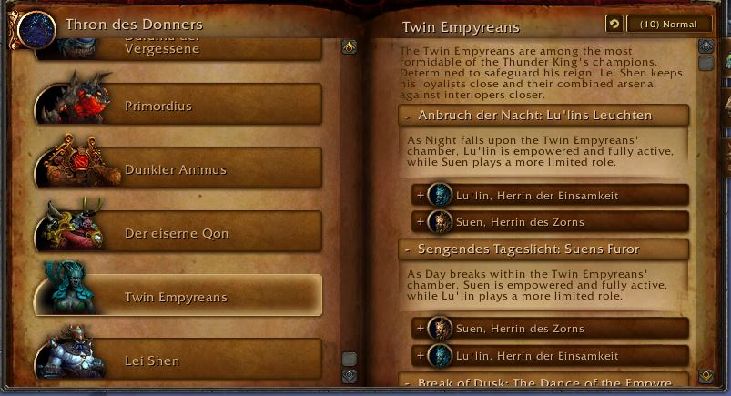 WoW Twin Empyreans