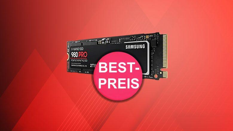 Top-SSD Samsung 980 PRO mit 2 TB aktuell zum Tiefstpreis bei Amazon