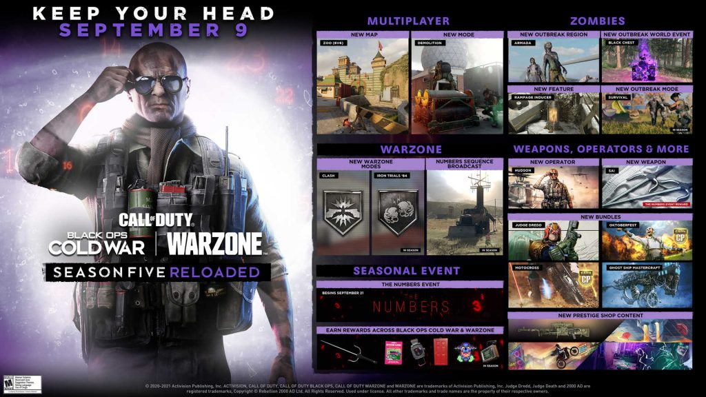 cod warzone cold war mid season 5 roadmap