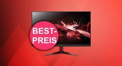 Günstiger Acer Gaming-Monitor aktuell zum Tiefstpreis mit eBay-Rabatt
