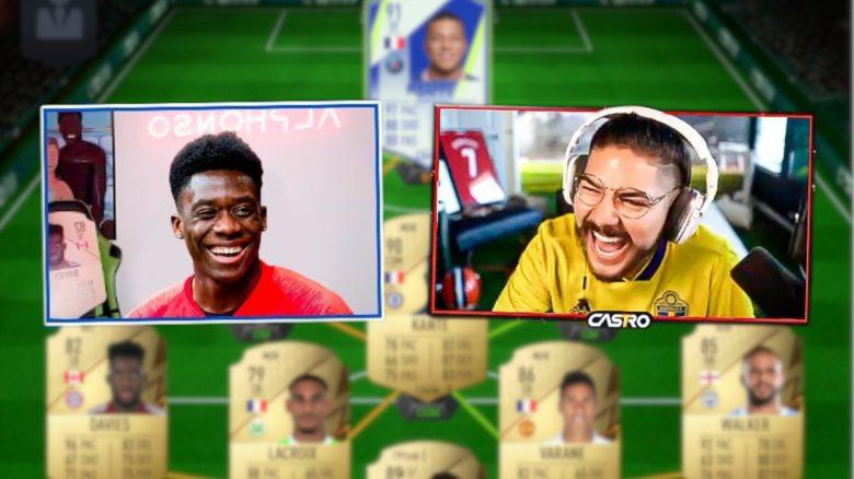 FIFA 22: Bayernprofi Alphonso Davies schlägt FIFA-YouTuber – Sein Team hätte ich auch gern