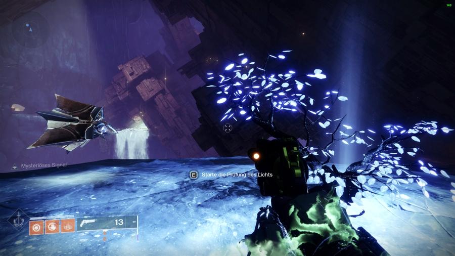 Destiny 2 freundliche Harpyie Licht und Dunkelheit Test