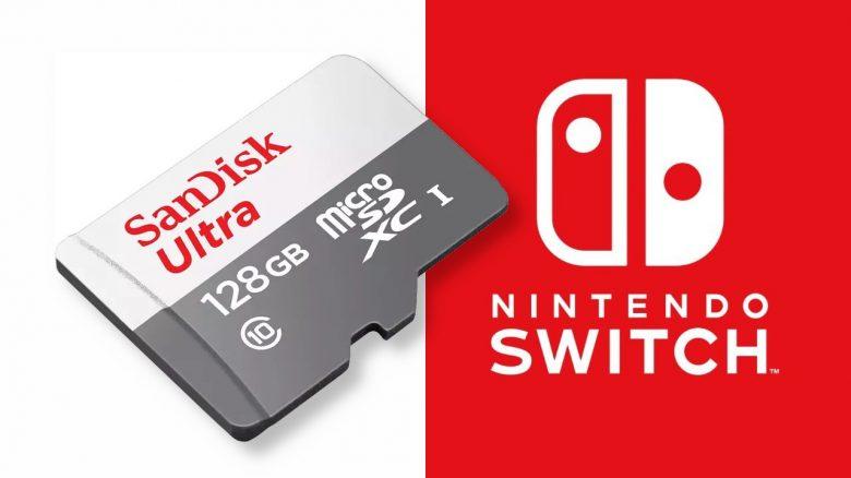 128 GB Speicherkarte für Nintendo Switch für 11 Euro im Angebot