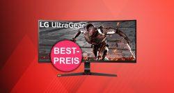 Großer Gaming-Monitor von LG jetzt zum neuen Tiefstpreis bei Amazon