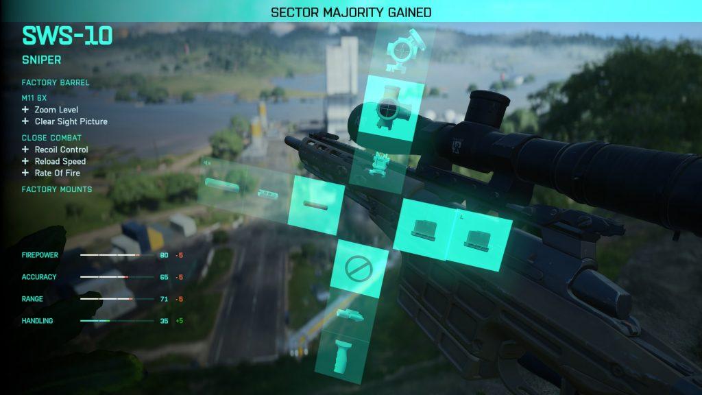 Battlefield 2042 Waffenschmied mods Kreuz