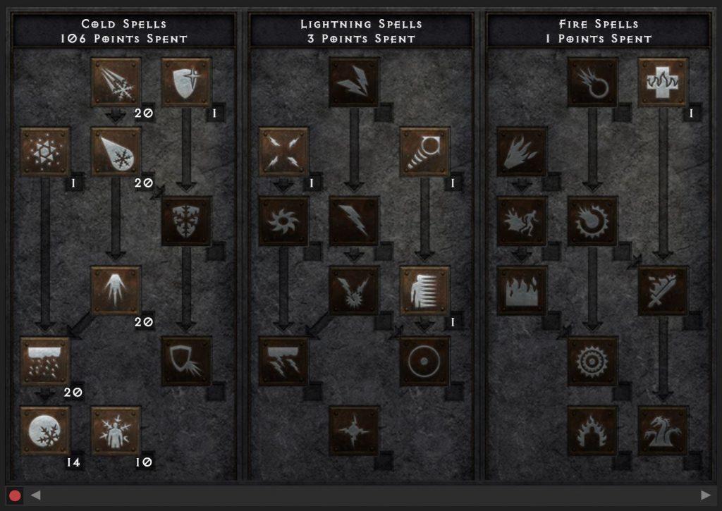 Diablo 2 Blizzard Zauberin Build maxroll