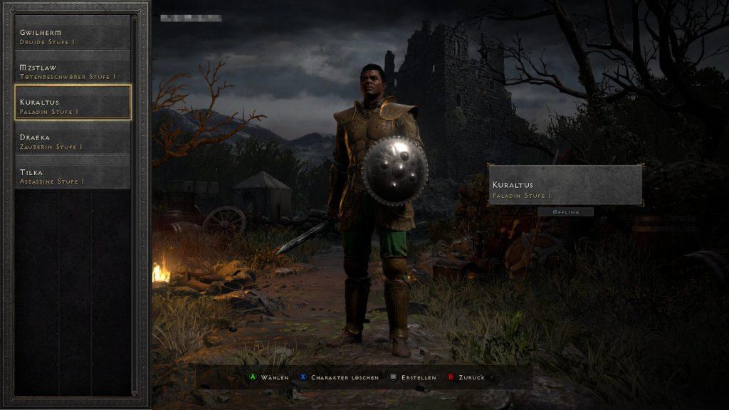 Diablo 2 Charakter löschen 1