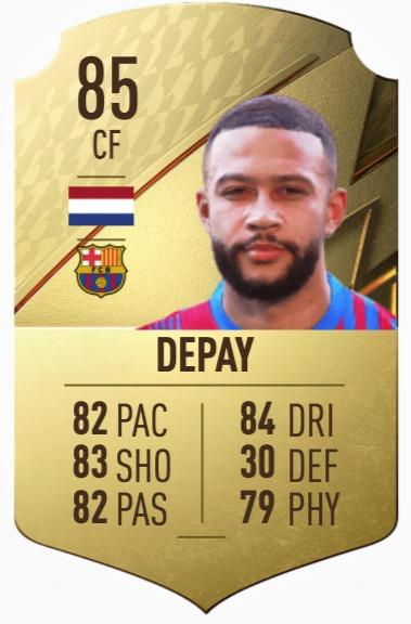 FIFA 22 Depay