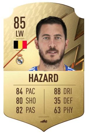 FIFA 22 Hazard