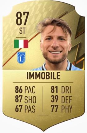 FIFA 22 Immobile